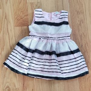 Other - Cute pink stripes dress 6 to 12 months